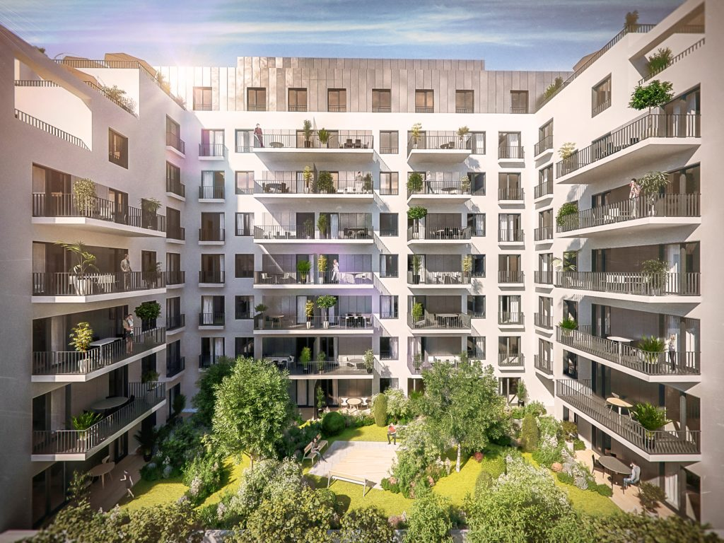 Marone House sunny flats with common garden