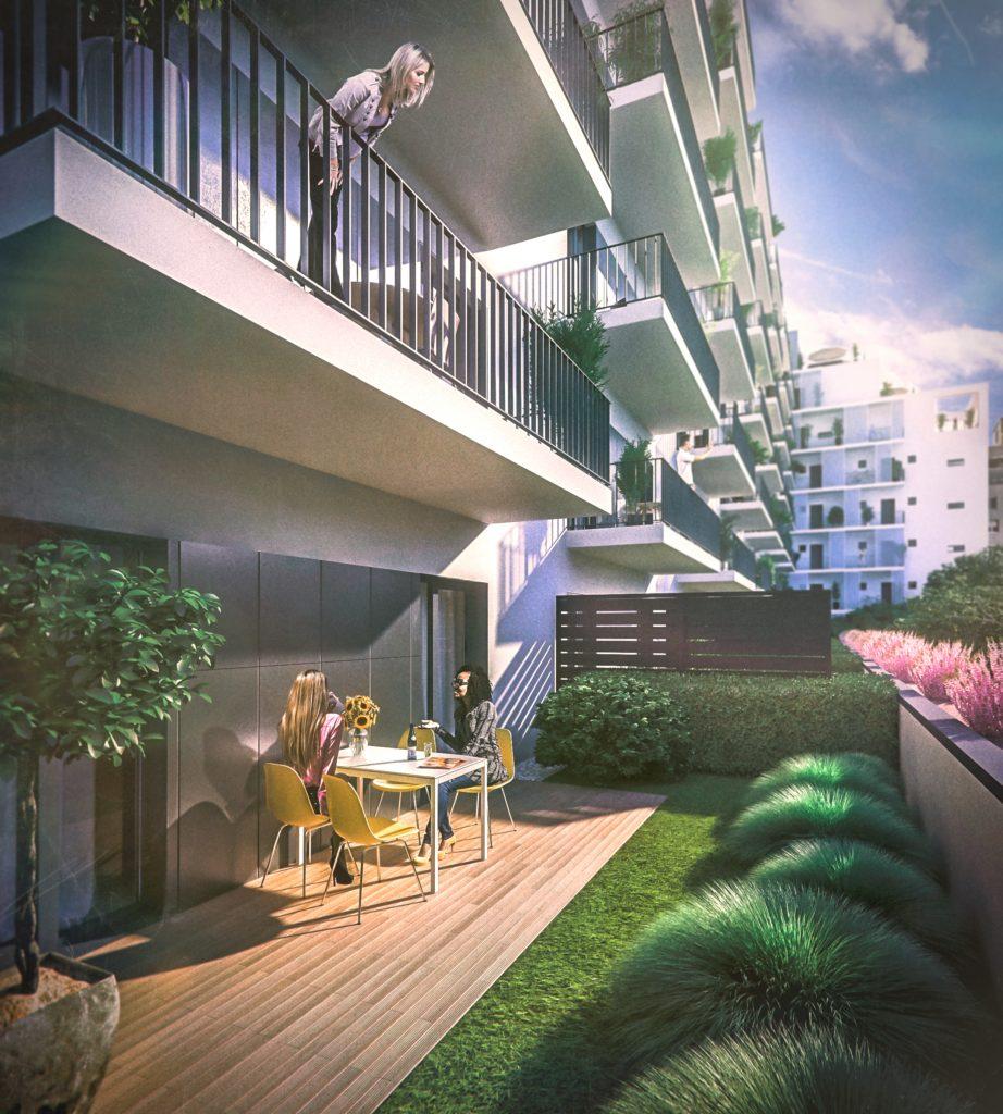 Marone House garden flats