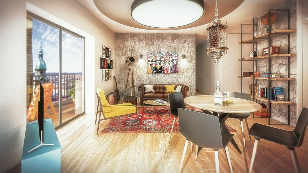 Marone House apartment example. Design: http://www.ettigabbay.com/en