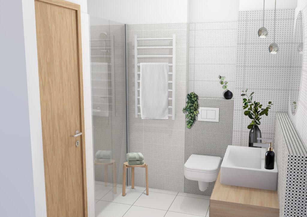 Marone House bathroom (Illustration)