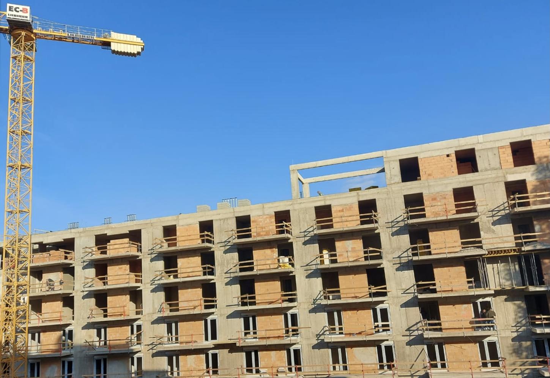 Marone House construction November 2020