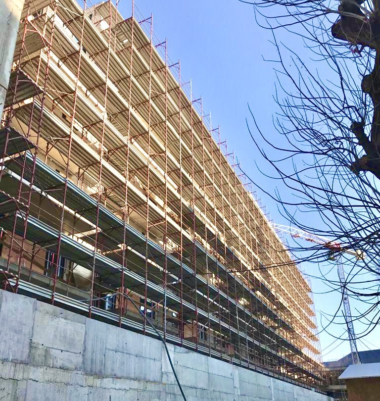 Marone House construction March 2021