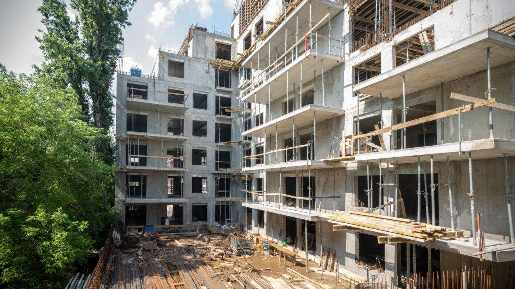 Marone House 1st phase construction July 2021